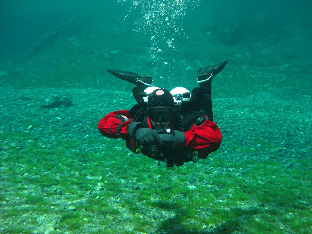 Grüner See - dive-machinery, Michael Husarek